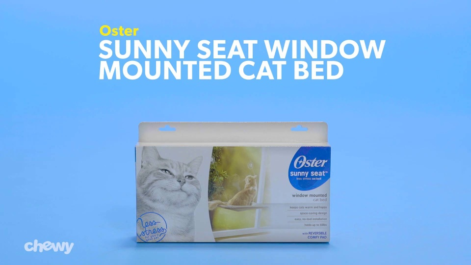 Peachy Oster Sunny Seat Window Mounted Cat Bed Brown Chewy Com Andrewgaddart Wooden Chair Designs For Living Room Andrewgaddartcom
