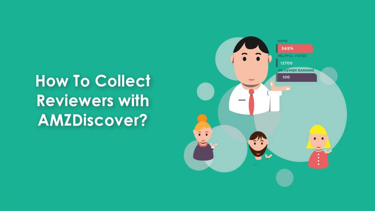 How To Collect Reviewers With AMZDiscover?