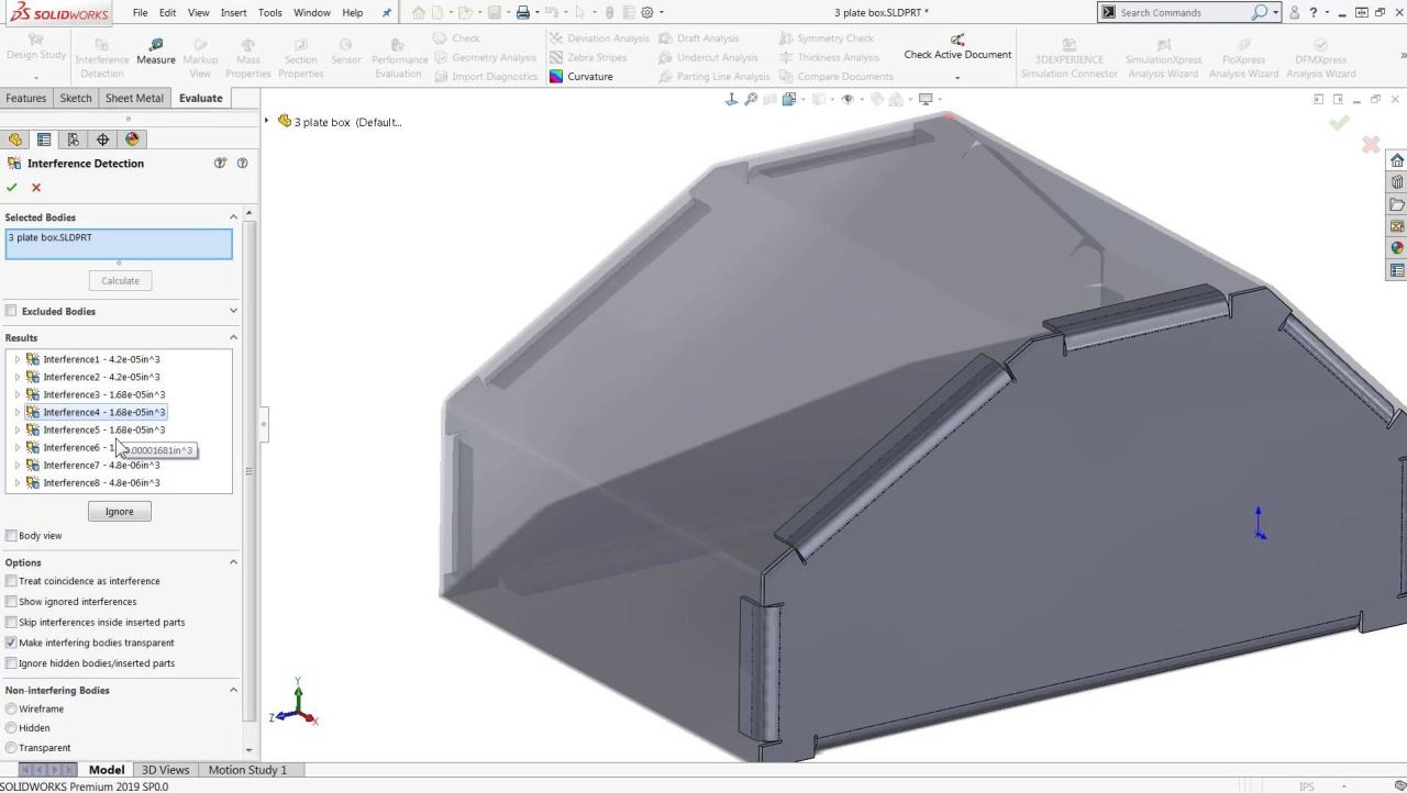 What's New SOLIDWORKS 2019_ Interference Detection