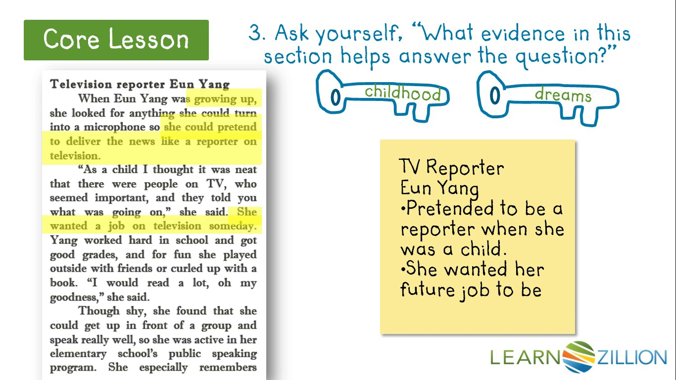 Answer A Question By Finding Evidence In The Text Learnzillion. Tap For Sound. Worksheet. Tapped Worksheet Answer Key At Mspartners.co