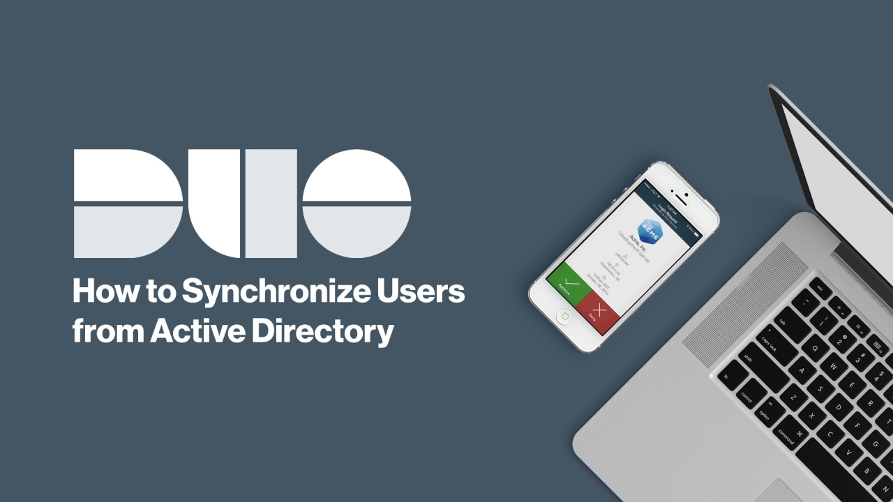 How to Synchronize Users from Active Directory