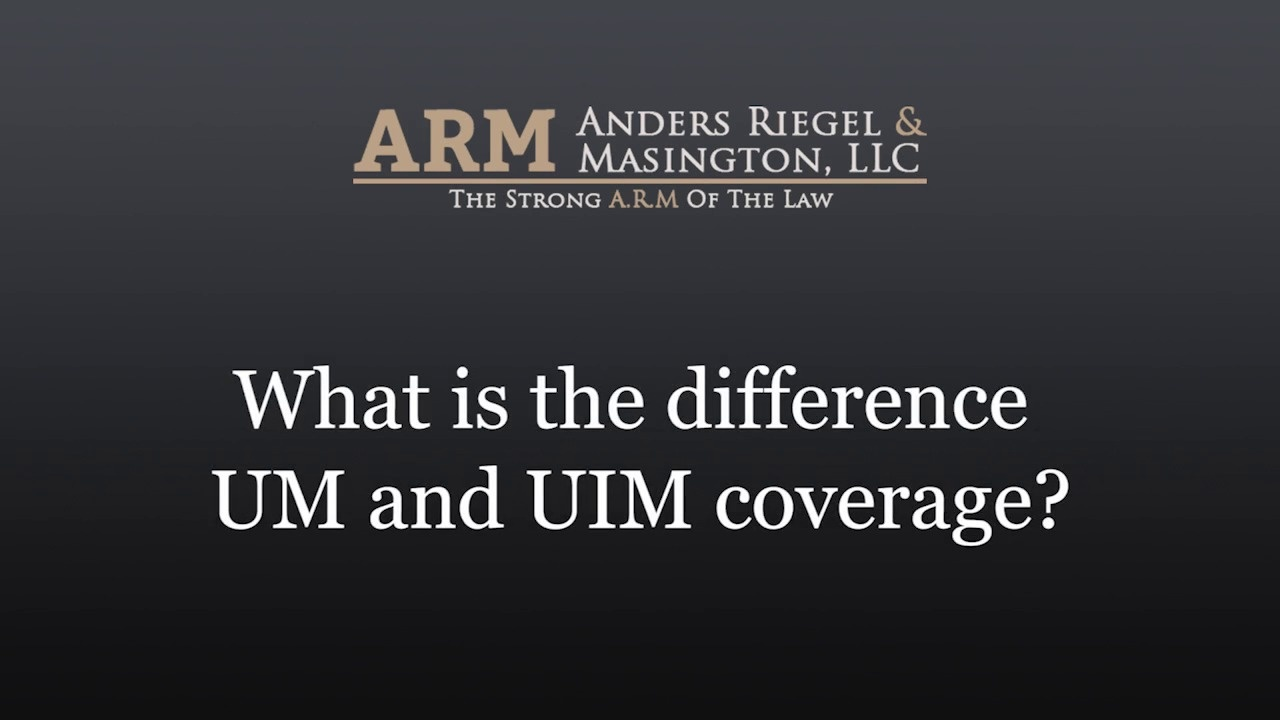 Uninsured Motorist Coverage vs  Underinsured Coverage
