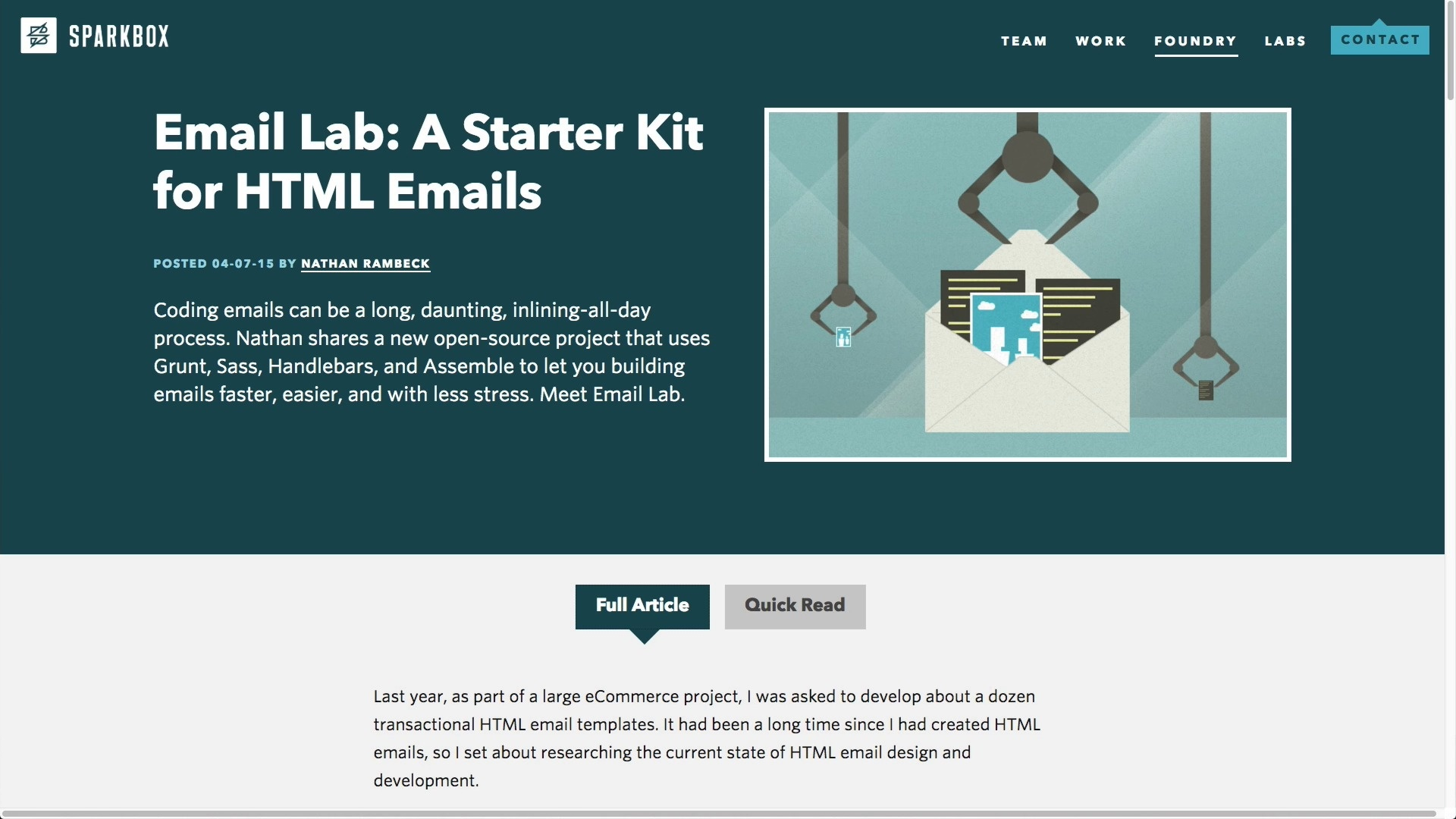 Podcast Email Frameworks And Task RunnersLitmus Software Inc - Open source email templates