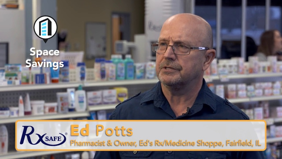 A pharmacist explains below how you can regain valuable floor space.