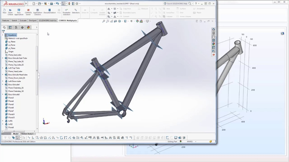 How to Analyze Your SOLIDWORKS® Designs with an App | COMSOL Blog