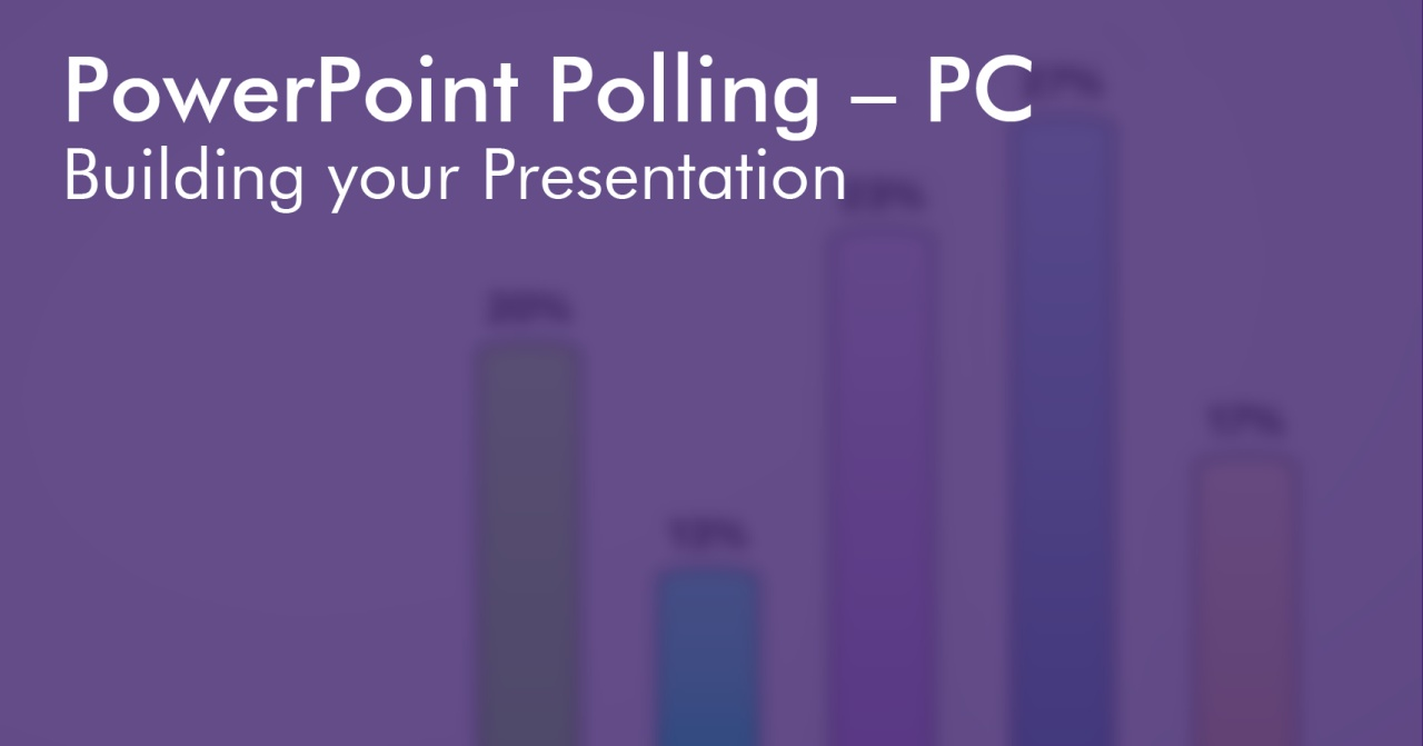 Running TurningPoint PowerPoint Presentations on PC