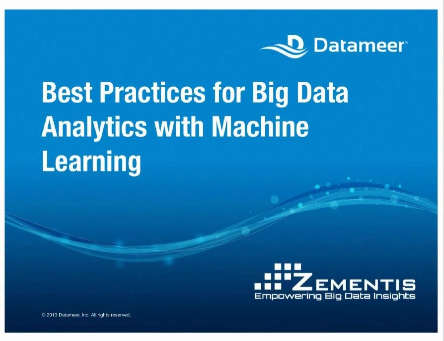 Best Practices for Big Data Analytics with Machine Learning