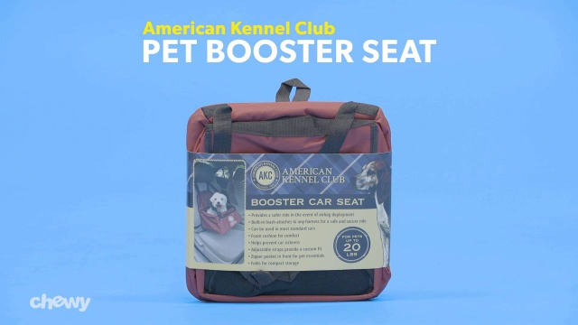 Phenomenal American Kennel Club Pet Booster Seat Gray Alphanode Cool Chair Designs And Ideas Alphanodeonline