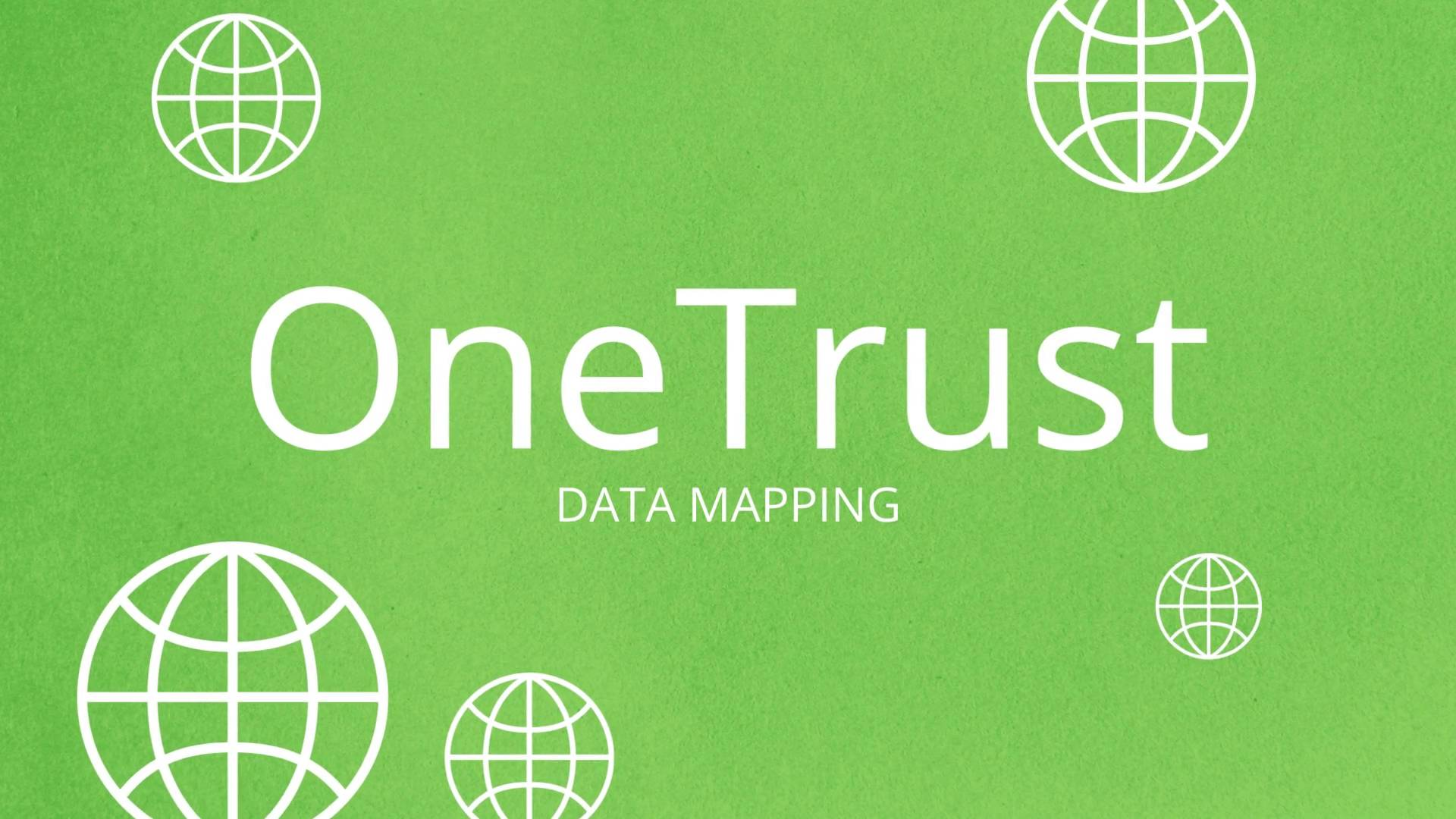 Data Mapping Automation | Products | OneTrust on
