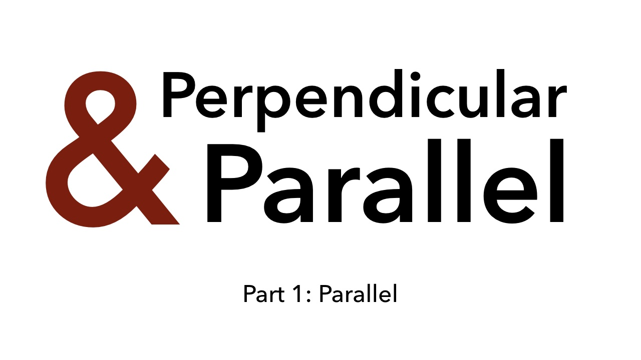 Parallel And Perpendicular From Byrdseed Tv