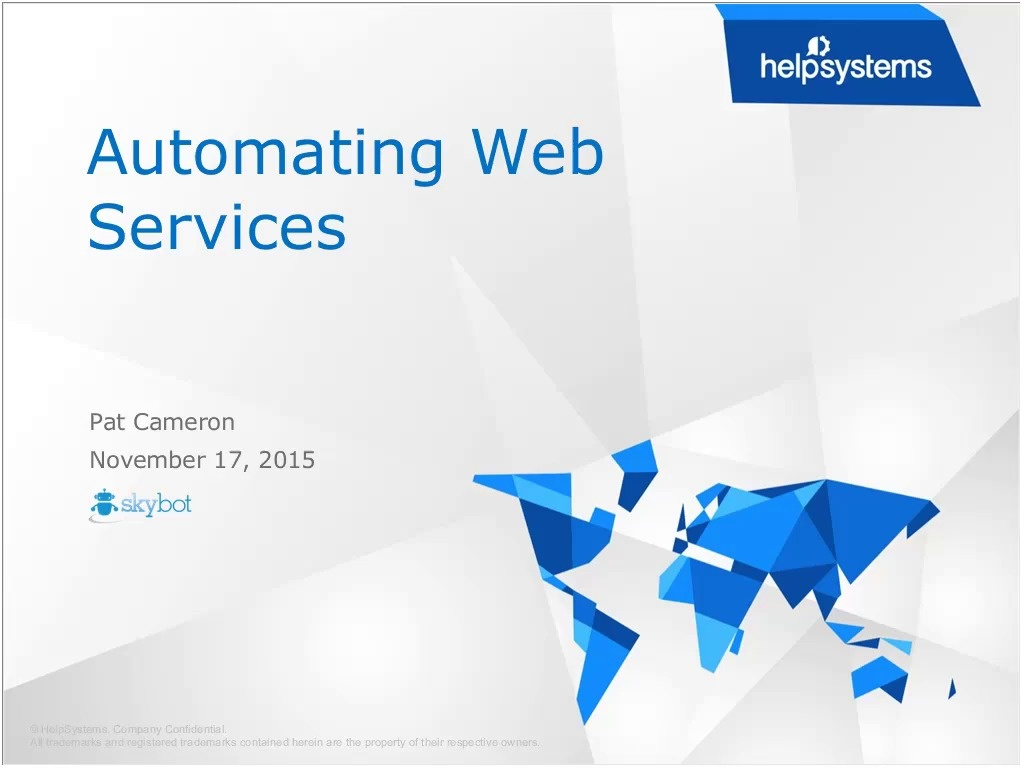 How Web Services Automation Streamlines your Enterprise
