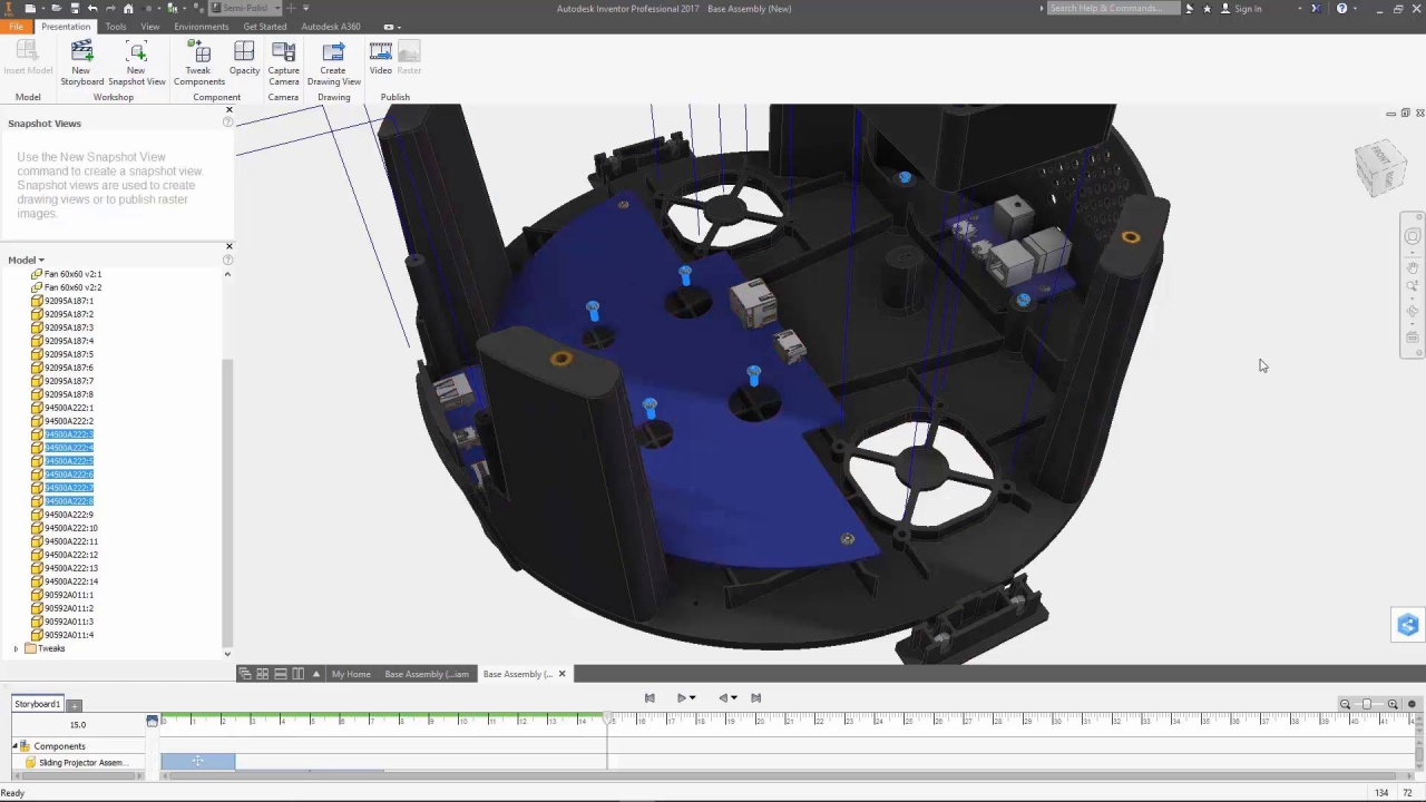 Autodesk inventor video tutorial creating a new drawing by.