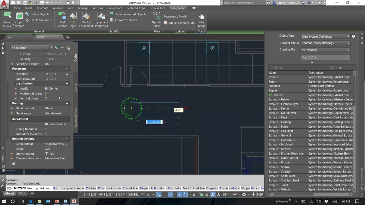 Drawing Hvac Systems Autocad - Wiring Diagrams Schema