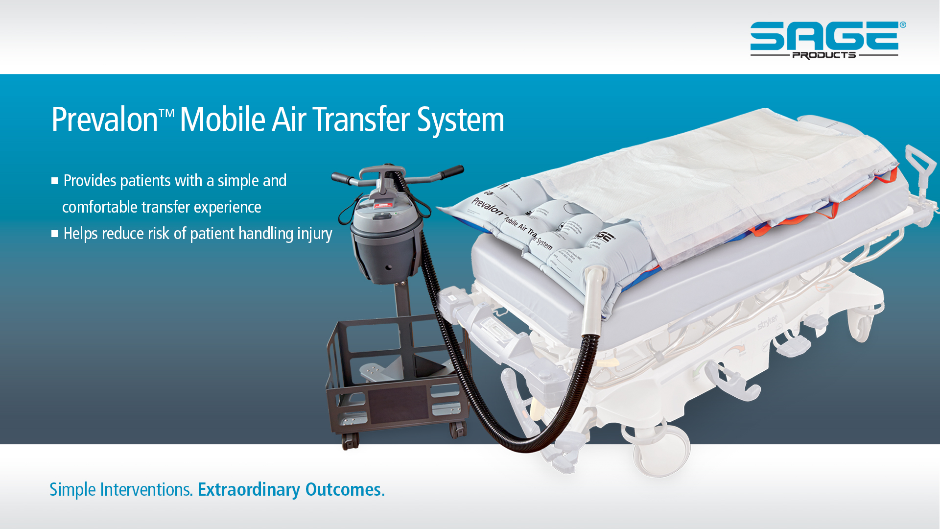 Water bed for patients - Reduce Your Risk Of Injury With Patient Transfer Systems Sage Products Llc