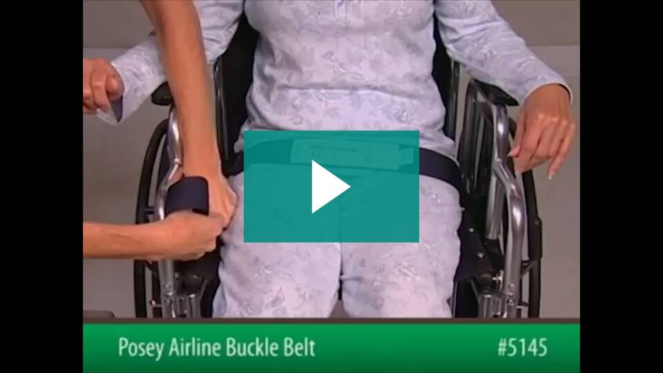 Posey Airline Buckle Belts 4229 5145 Vitality Medical