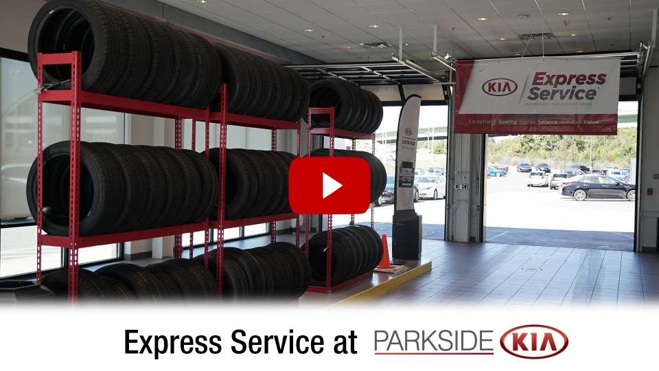 Express Service At Parkside Kia In Knoxville Tennessee