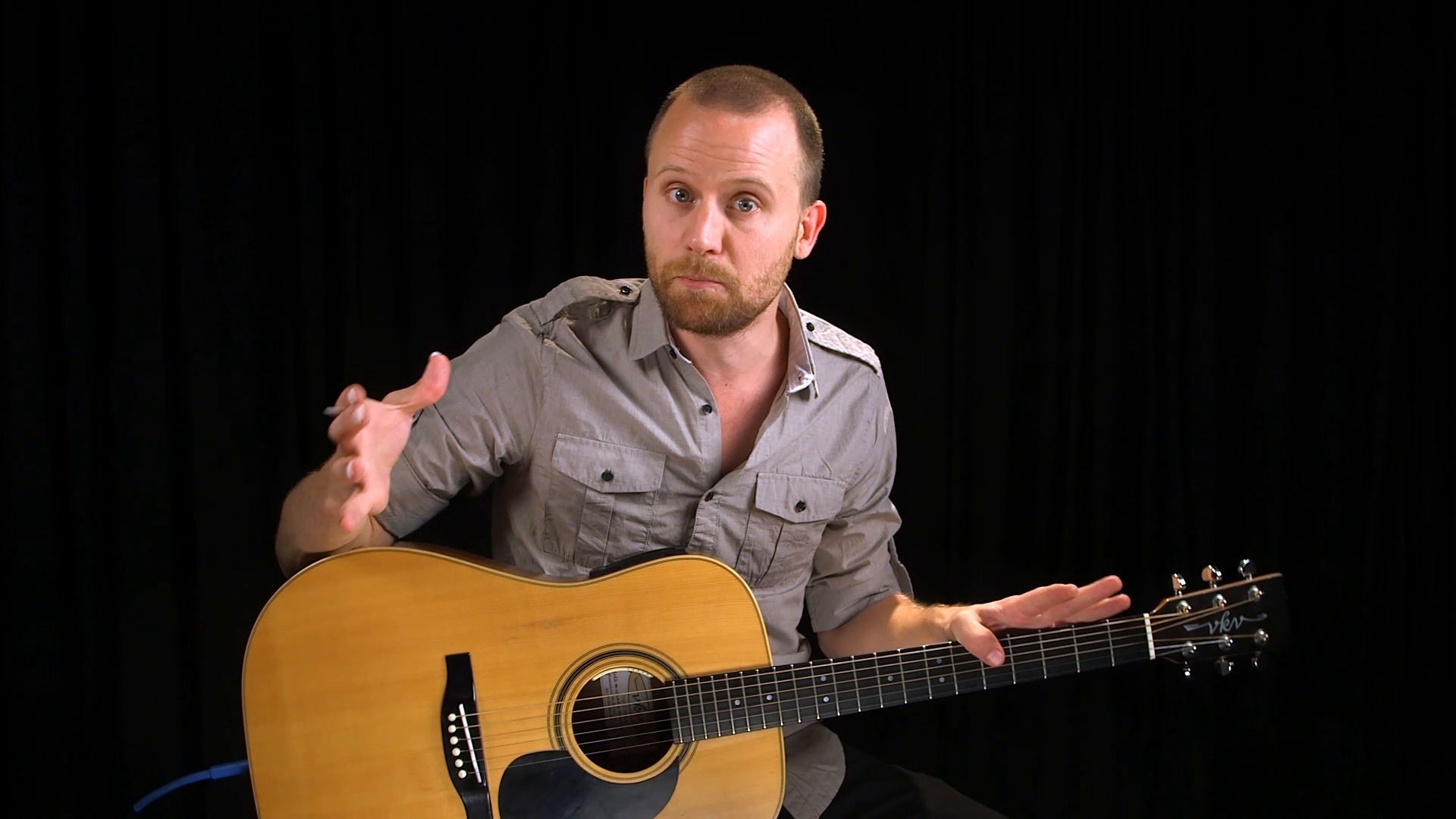 Guitar lessons intro one man country band