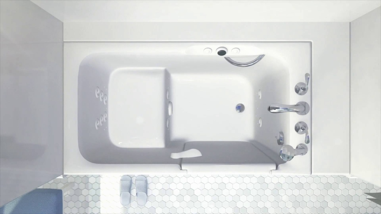 Walk-In Tubs - Safe, Comfortable & Affordable | KOHLER® Walk-In Bath