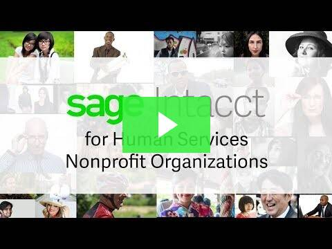 Accounting Software for Health & Human Services Video
