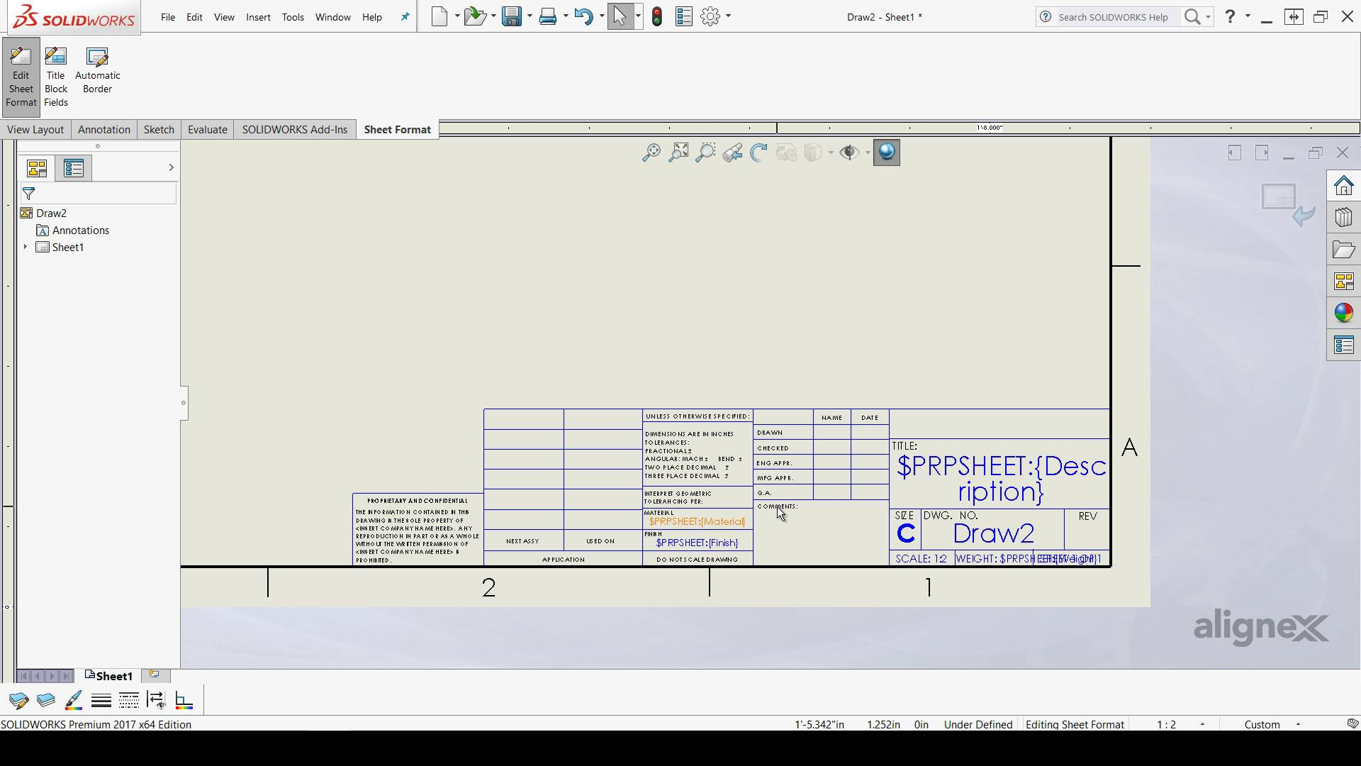 solidworks drawing template tutorial - technical tutorial intelligent cad cam technology ltd ict