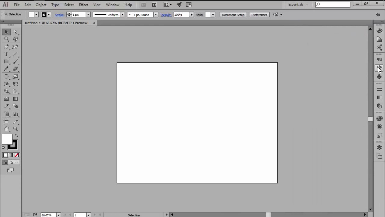 Illustrator in 60 seconds how to create a custom workspace baditri Image collections
