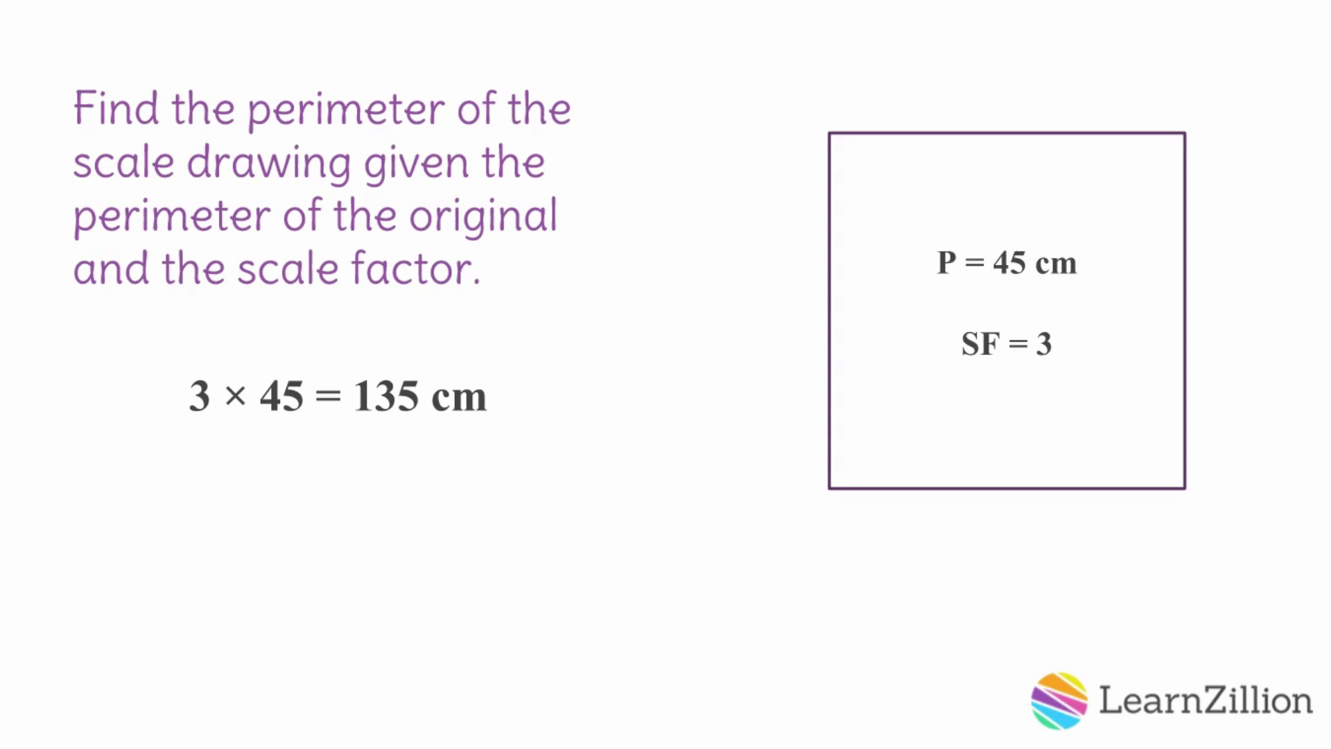 5 calculate perimeters of scale drawings given scale factors fp calculate perimeters of scale drawings given scale factors fp learnzillion ccuart Images