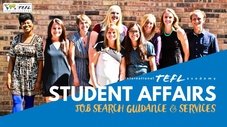 International TEFL Academy Student Affairs Services & Guidance
