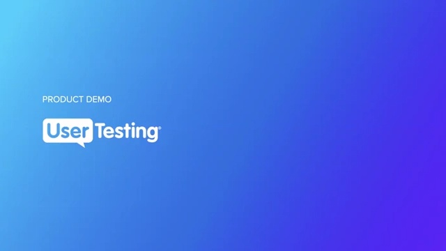 UserTesting Product Demo (Website + MKTO Form + Var B CTA)