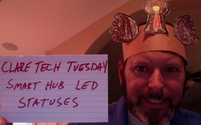 Clare Tech Tuesday: Smart Hub LED Light Statuses