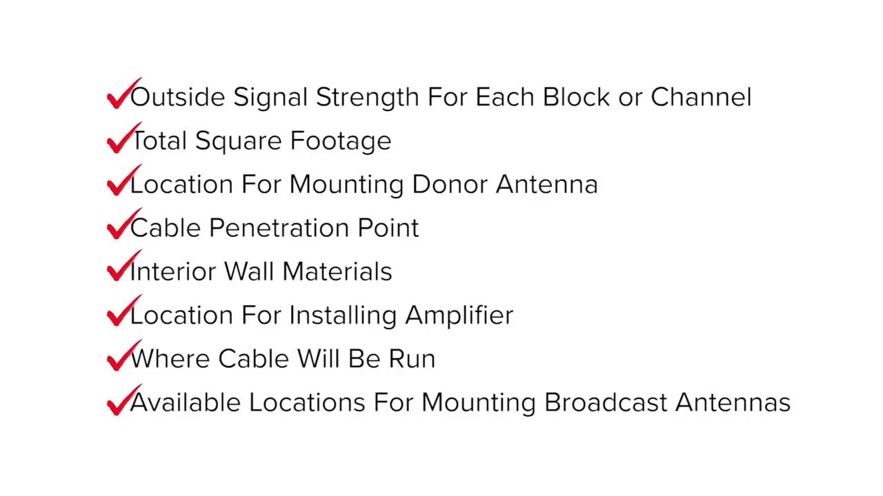 Site Survey Guide for Cell Phone Signal Booster Installation