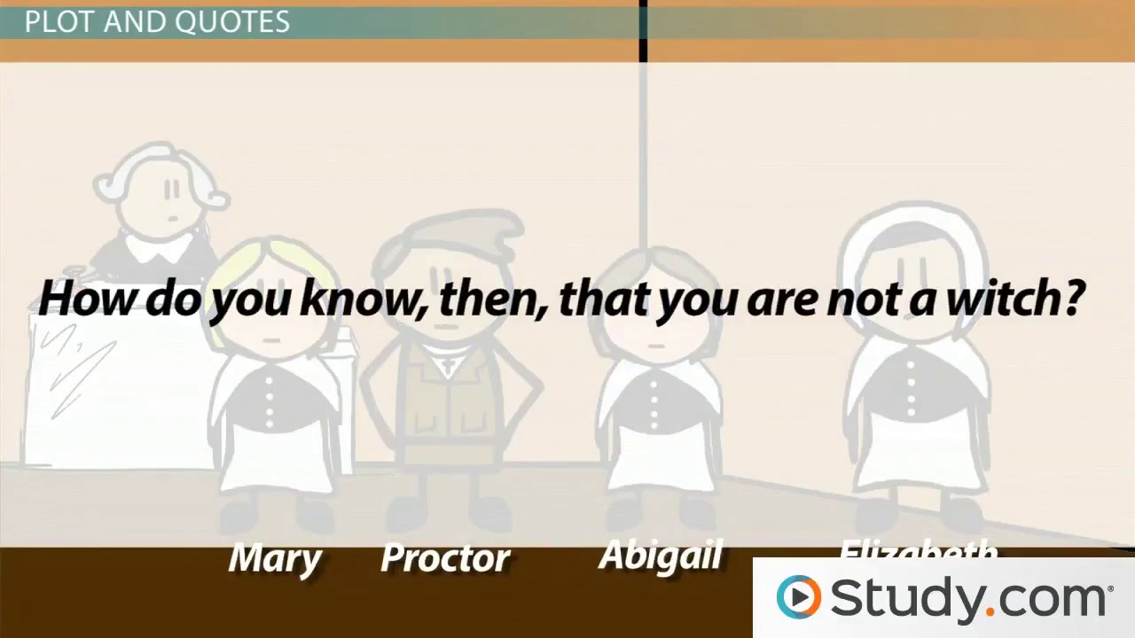 arthur miller s the crucible summary and quotes video lesson