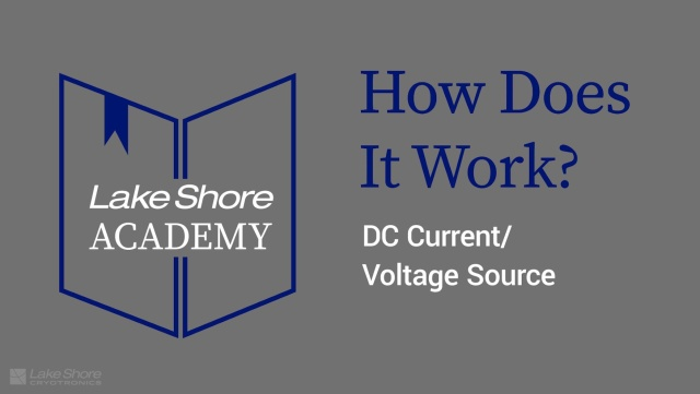 How Does It Work?: DC Current & Voltage Source (4:49)