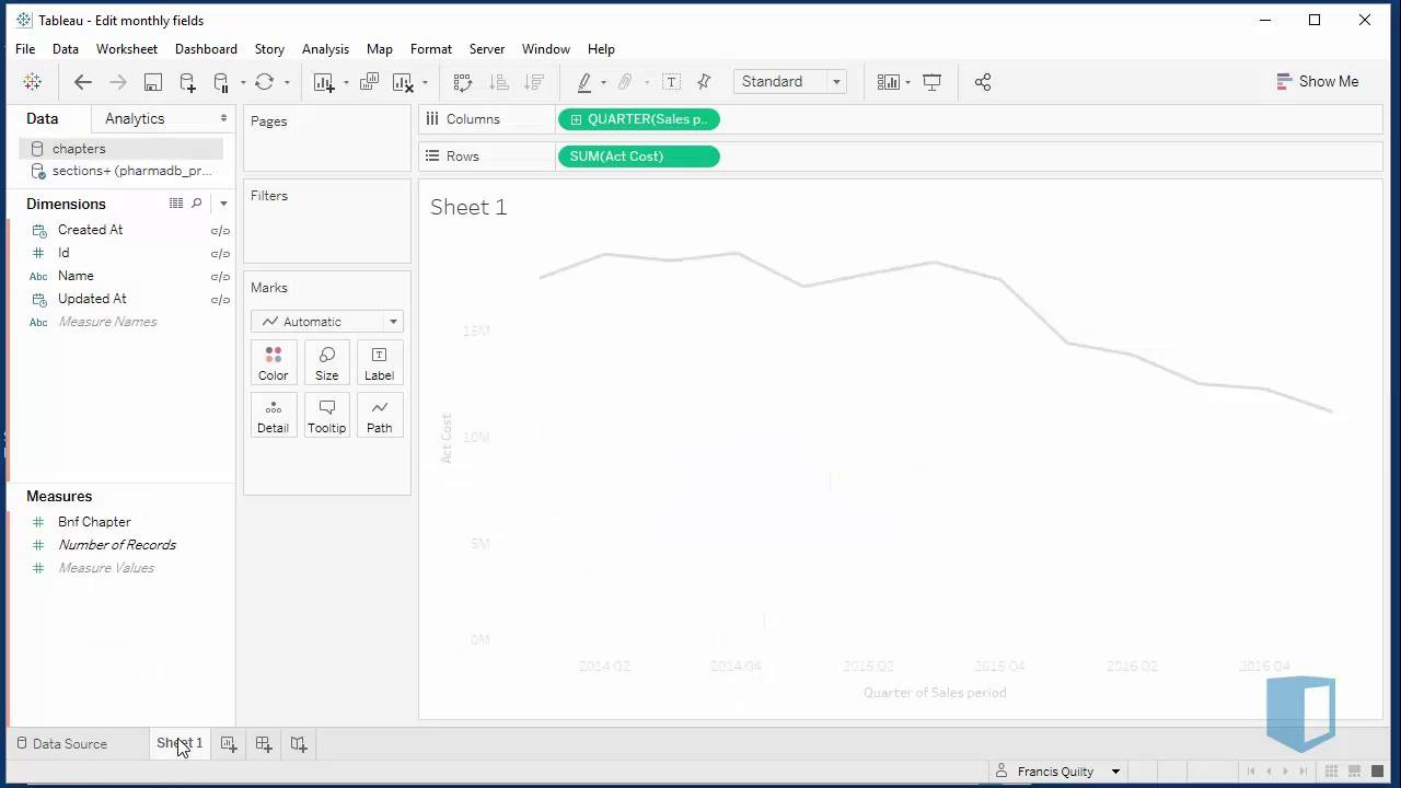Saving and Publishing Data Sources   Online Tableau Training