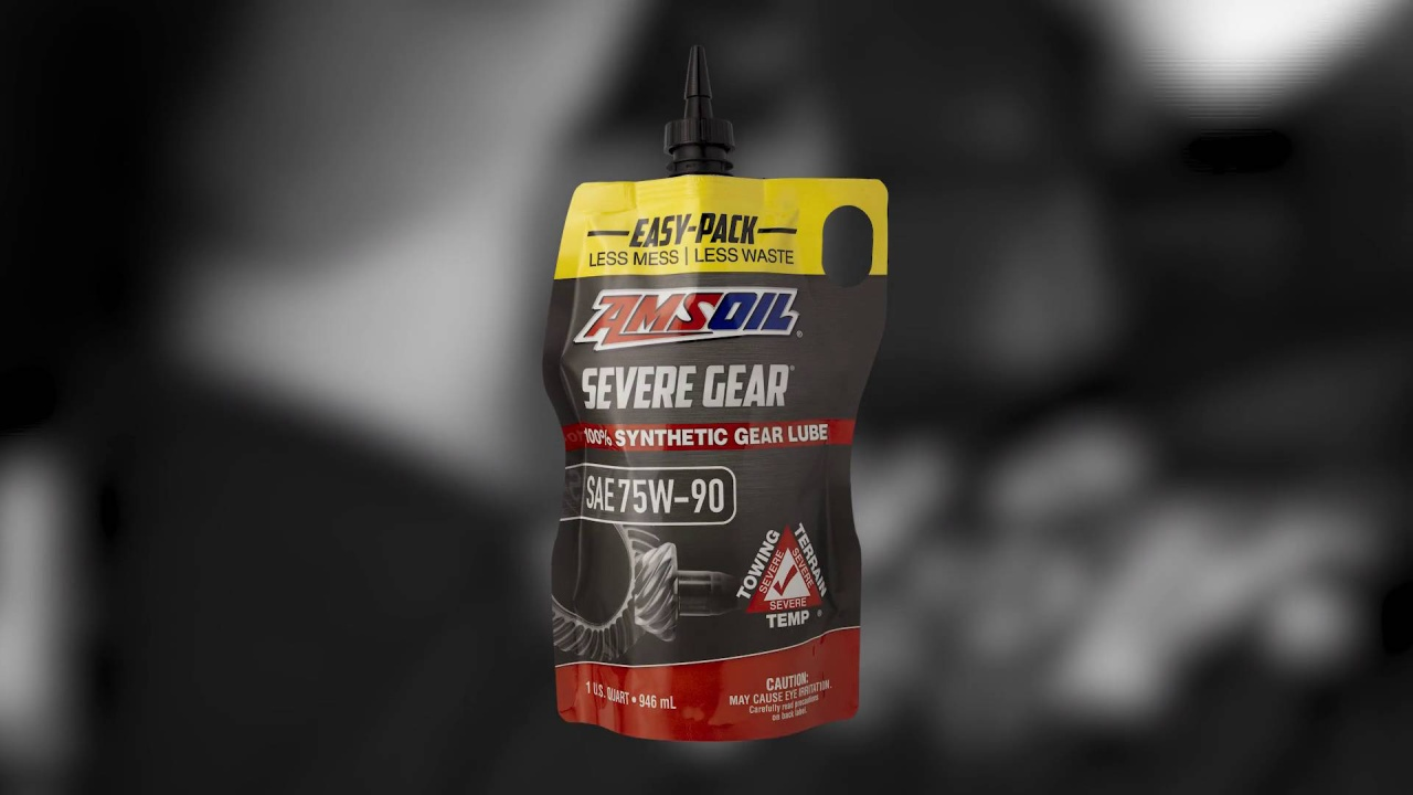 Amsoil Severe Gear 75w 90 >> Introducing The New Severe Gear Easy Pack