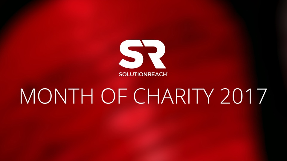 Wistia video thumbnail - Solutionreach Month of Charity 2017