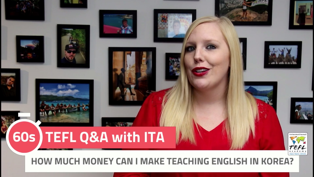 How Much Money Can I Make Teaching English in Korea?