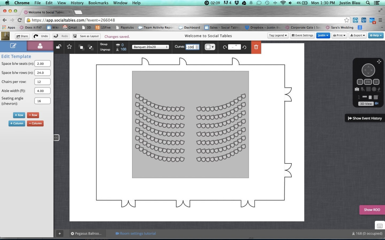 Wistia video thumbnail - Curved and Chevron Theatre Seating