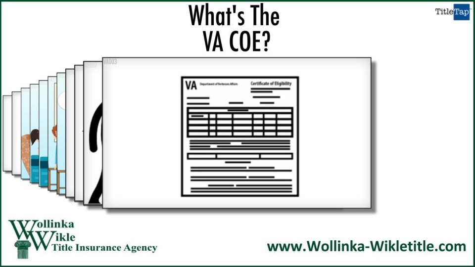 What Is A Certificate Of Eligibility Or Coe Palm Harbor Fl