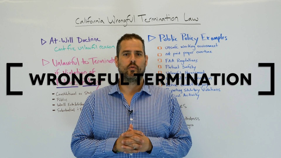 how to write a letter of appeal for wrongful termination