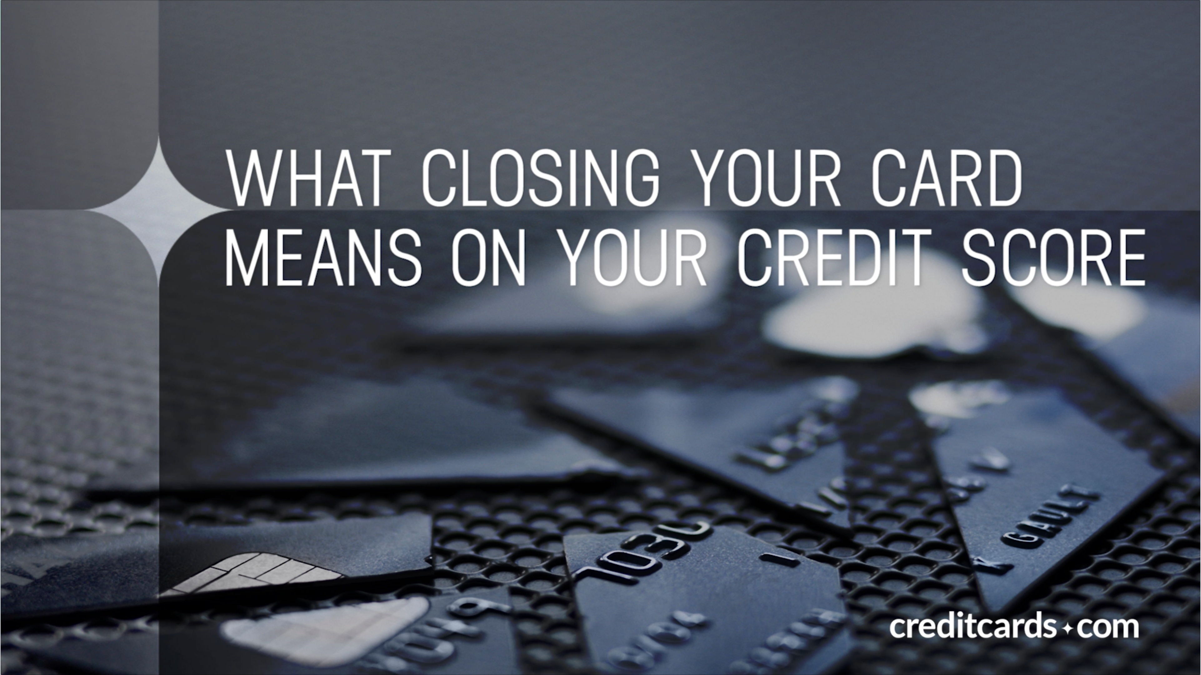 video how closing your card affects your credit score
