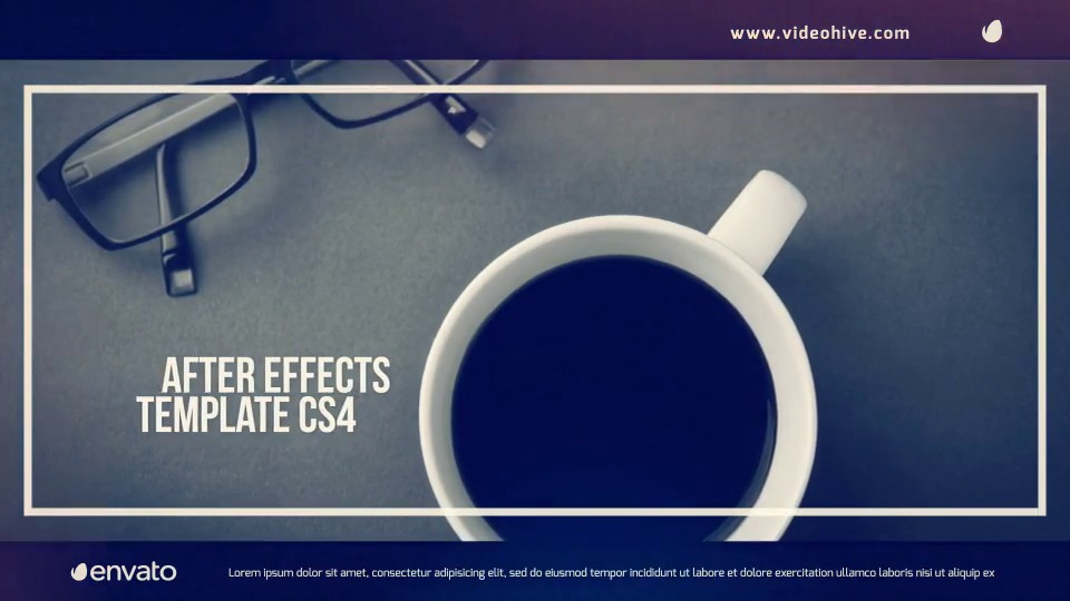 Adobe After Effects Book Photo Album Template