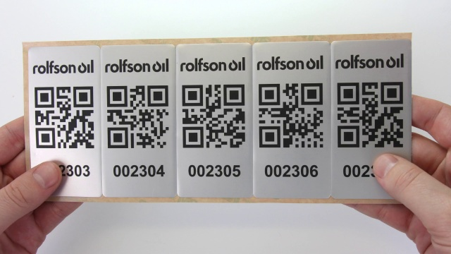 Print Your Own Free QR Code Asset Tag Video