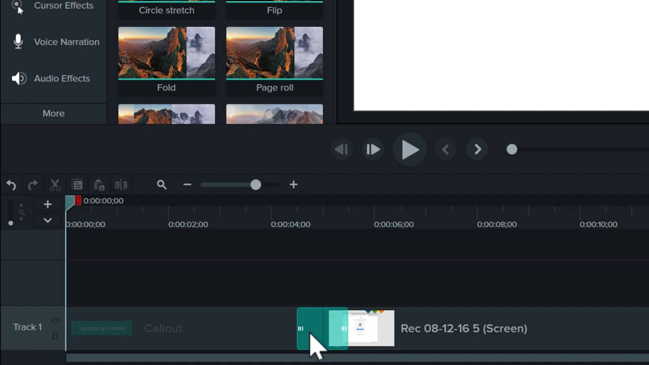 Transitions annotations behaviors camtasia techsmith ccuart Image collections