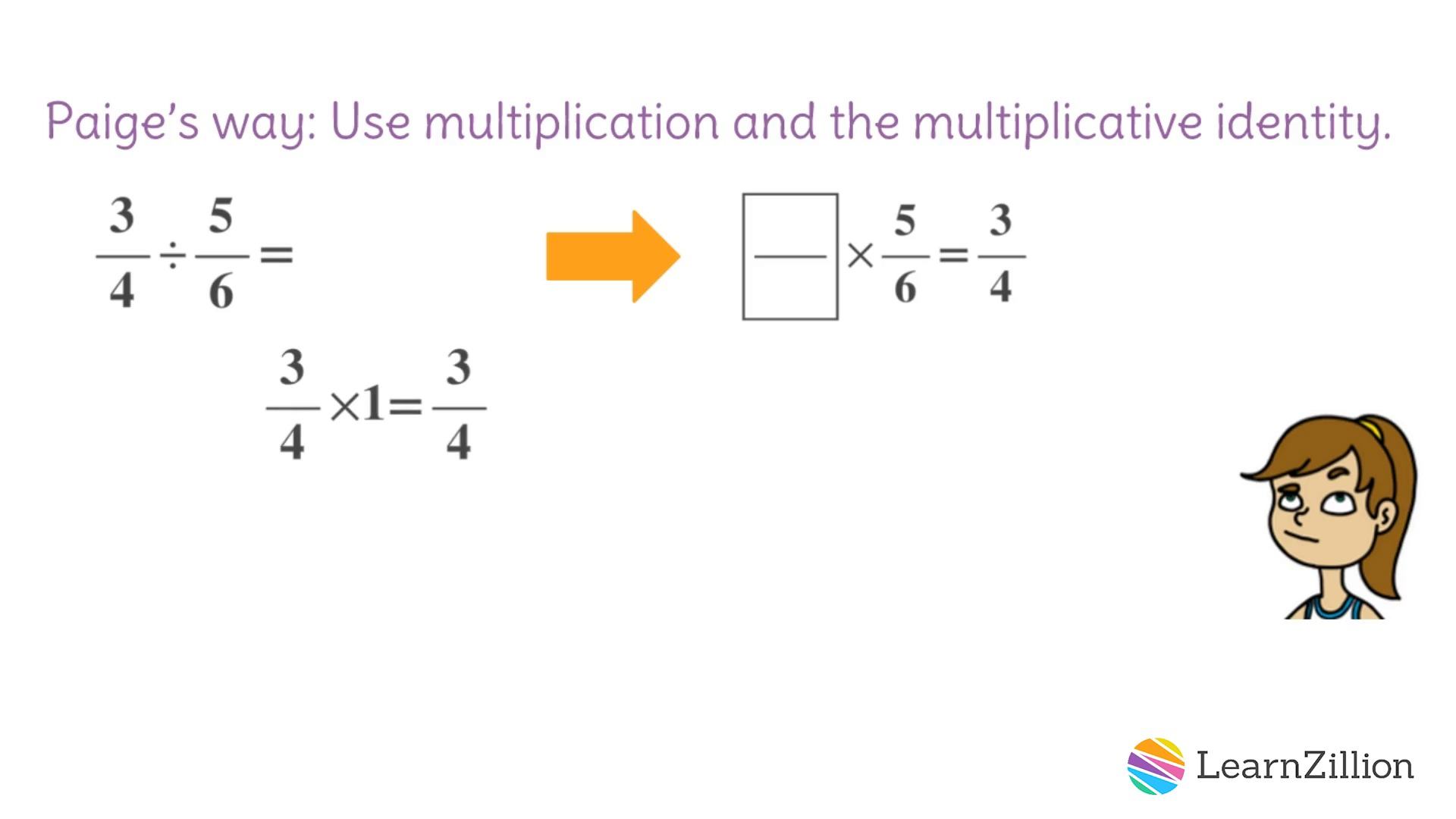 Use Multiplication And Division To Divide Fractions (c)  Learnzillion