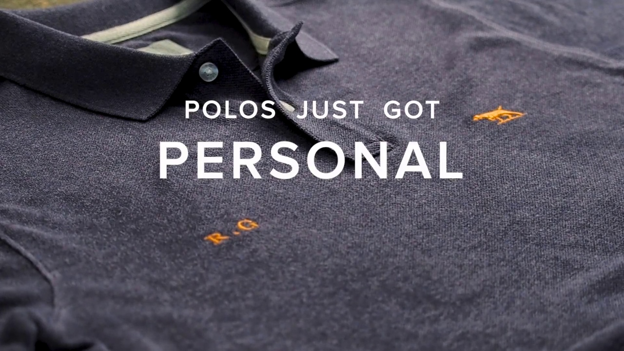 7d881aadc Wistia video thumbnail. Personalise Your Polo