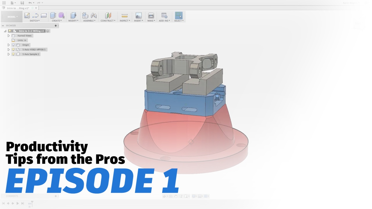 Fusion 360 Productivity Tips From The Pros Free Download Destroyer Wiring Diagram Video Thumbnail