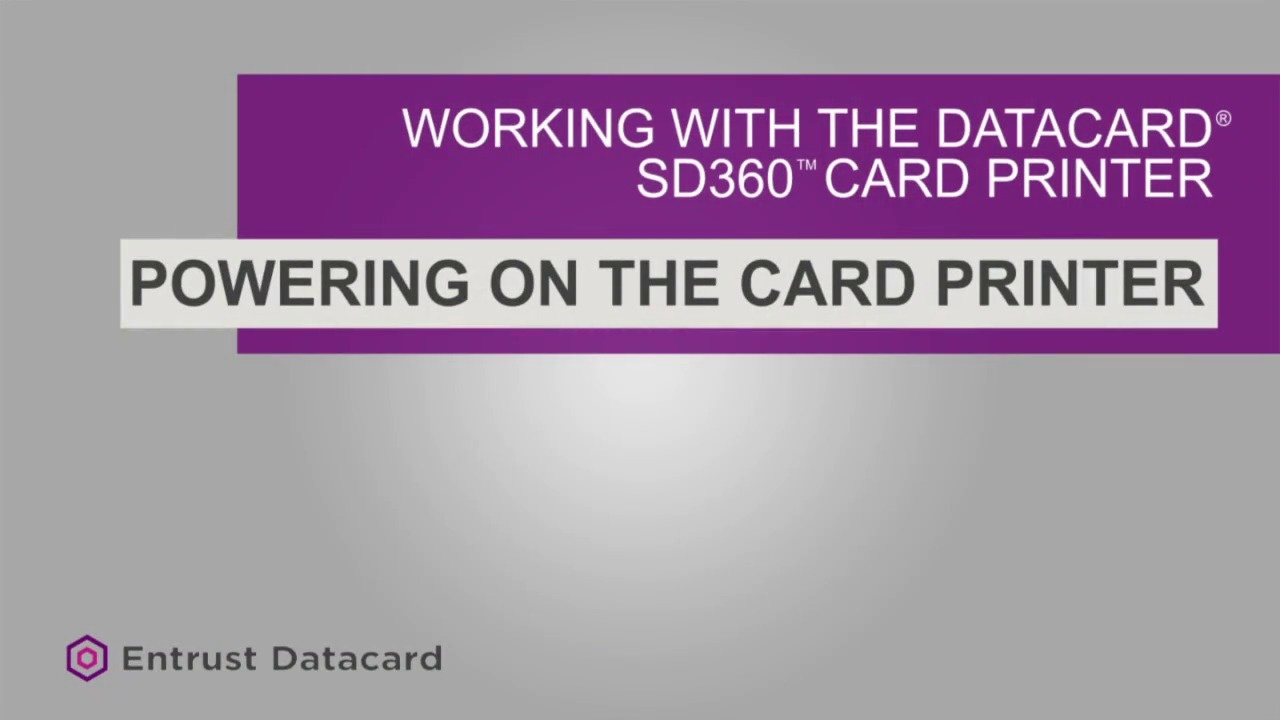 Loading Cards - SD360