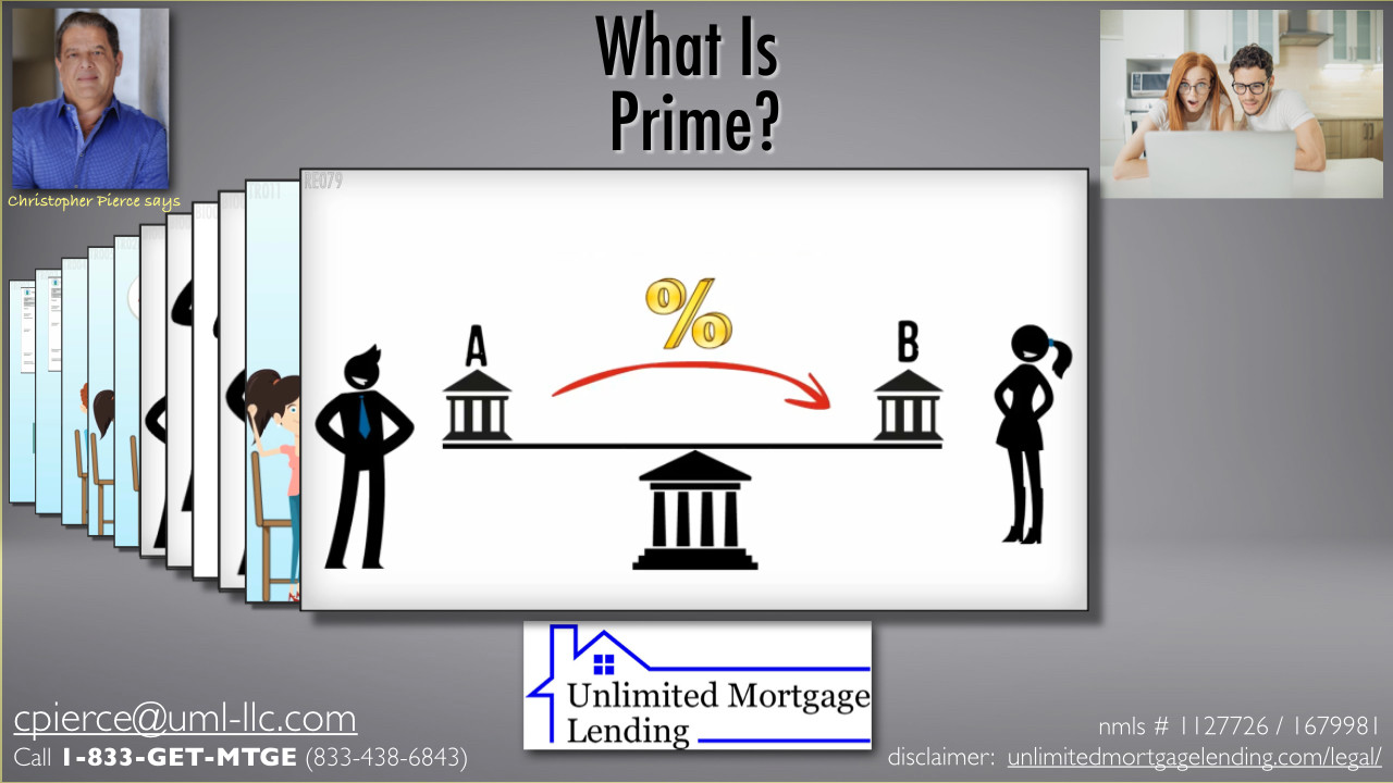 """What Is """"Prime""""? Unlimited Mortgage Lending"""