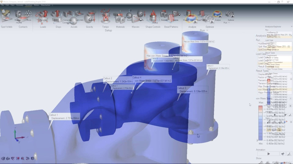 Altair Inspire Generate Structurally Efficient Concepts Quickly And