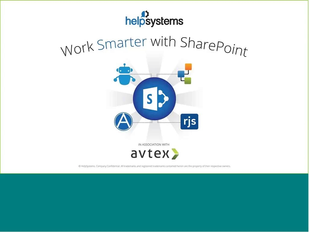 Working Smarter with SharePoint